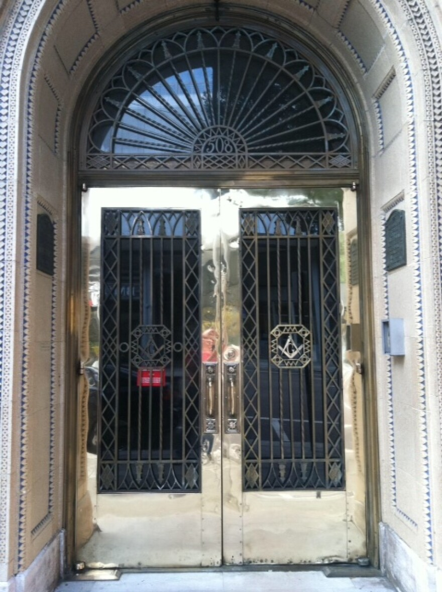 This Tampa Landmark will be have its brass entry doors restored.