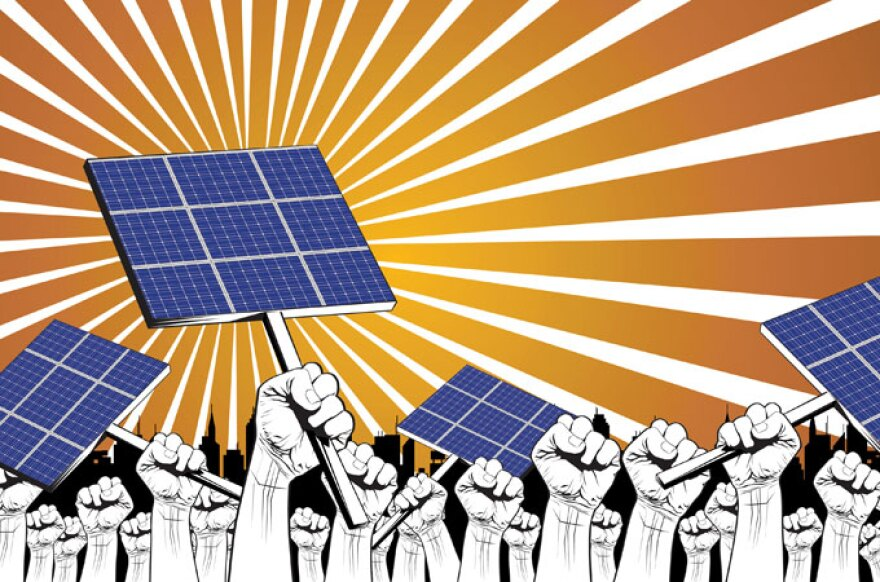 Chances are slim Floridians For Solar Choice will gather the more than 600,000 signatures needed by Feb. 1 to make the 2016 ballot.