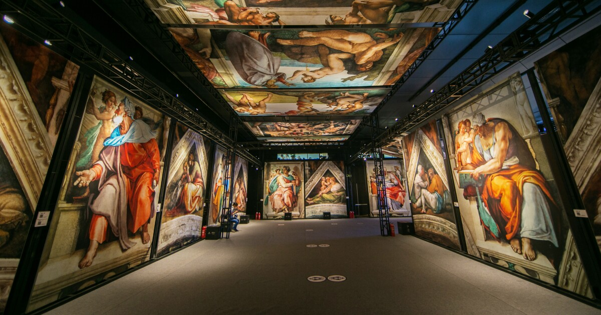 St. Louis Convention Center Will Host Reproductions of Michelangelo's Iconic Frescoes