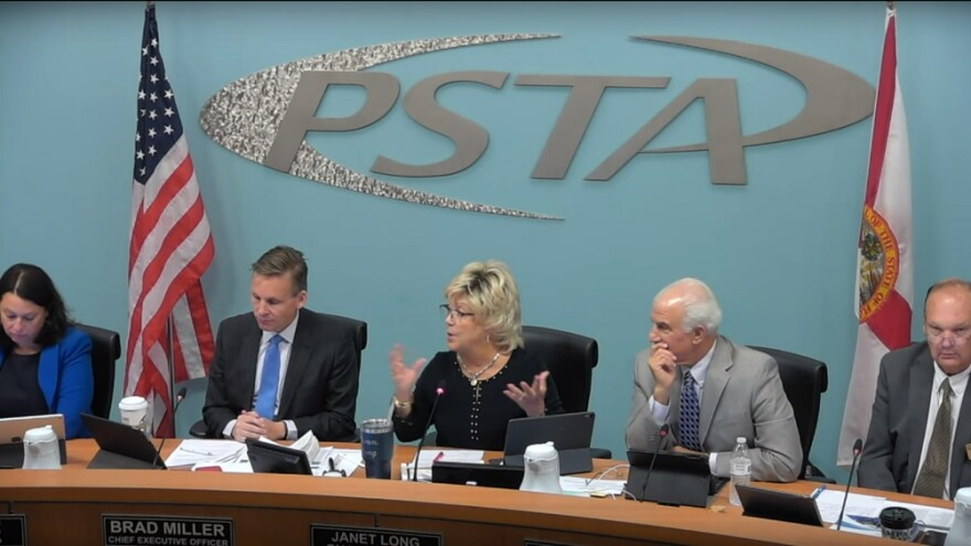 PSTA Board members unanimously vote against service cuts in April 24 meeting