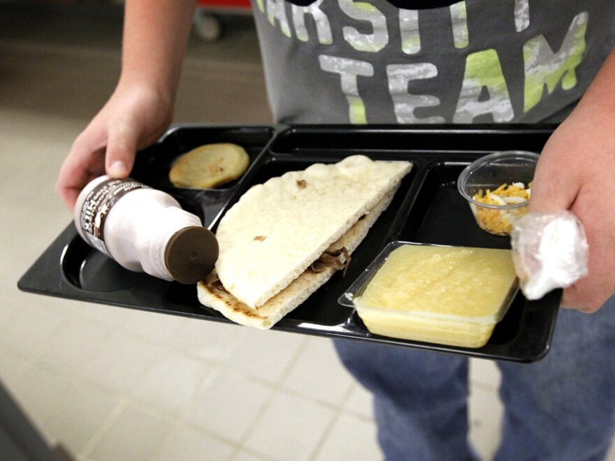 """Currently, half of all products served in the school lunch program must be """"whole-grain rich,"""" which USDA defines as products made of at least 50 percent whole grain. According to the new standards, by the start of the next school year, schools must use only products that are whole-grain rich.<strong></strong>"""