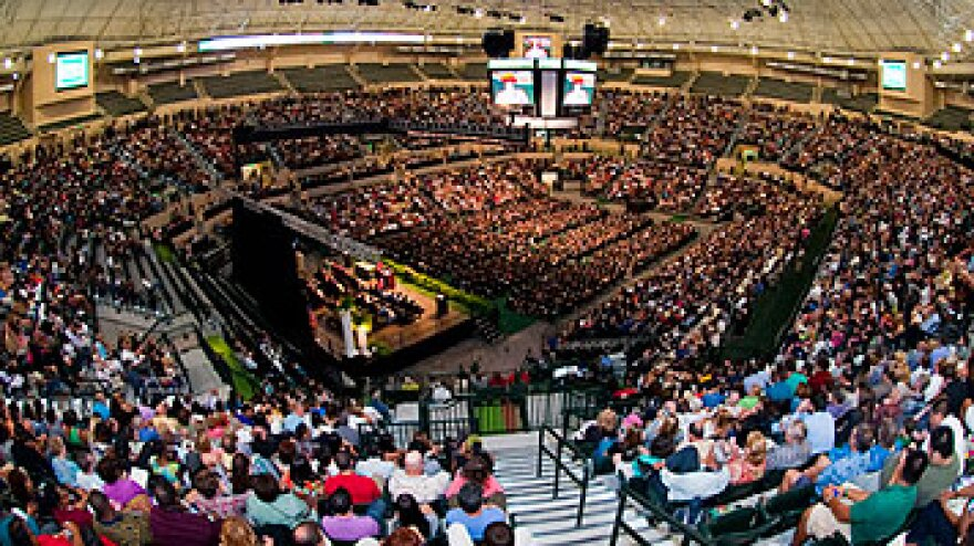 Sun Dome Graduation