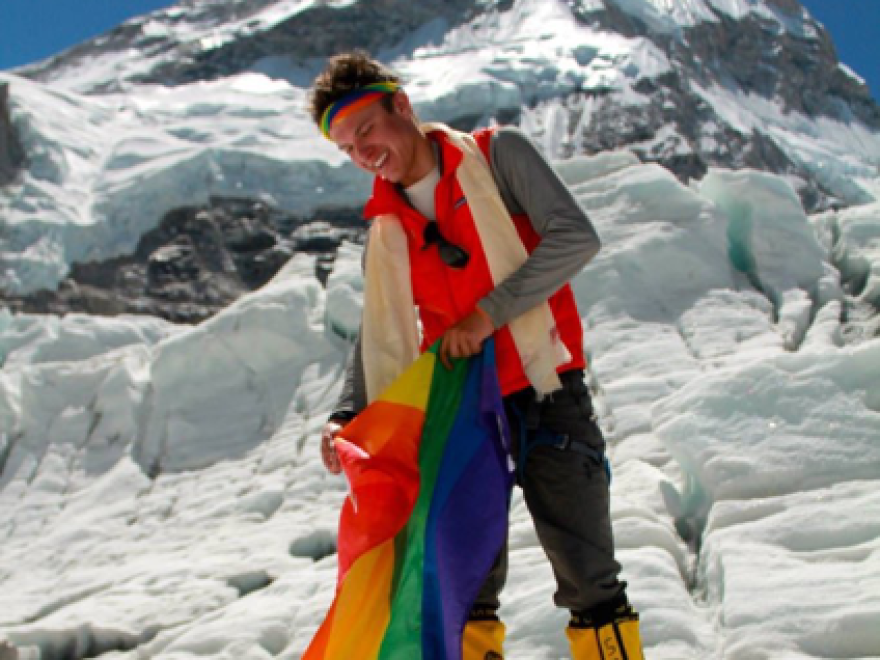 Cason Crane completed the seven summits in 2013 to raise awareness and funding for suicide prevention among LGBT youth.