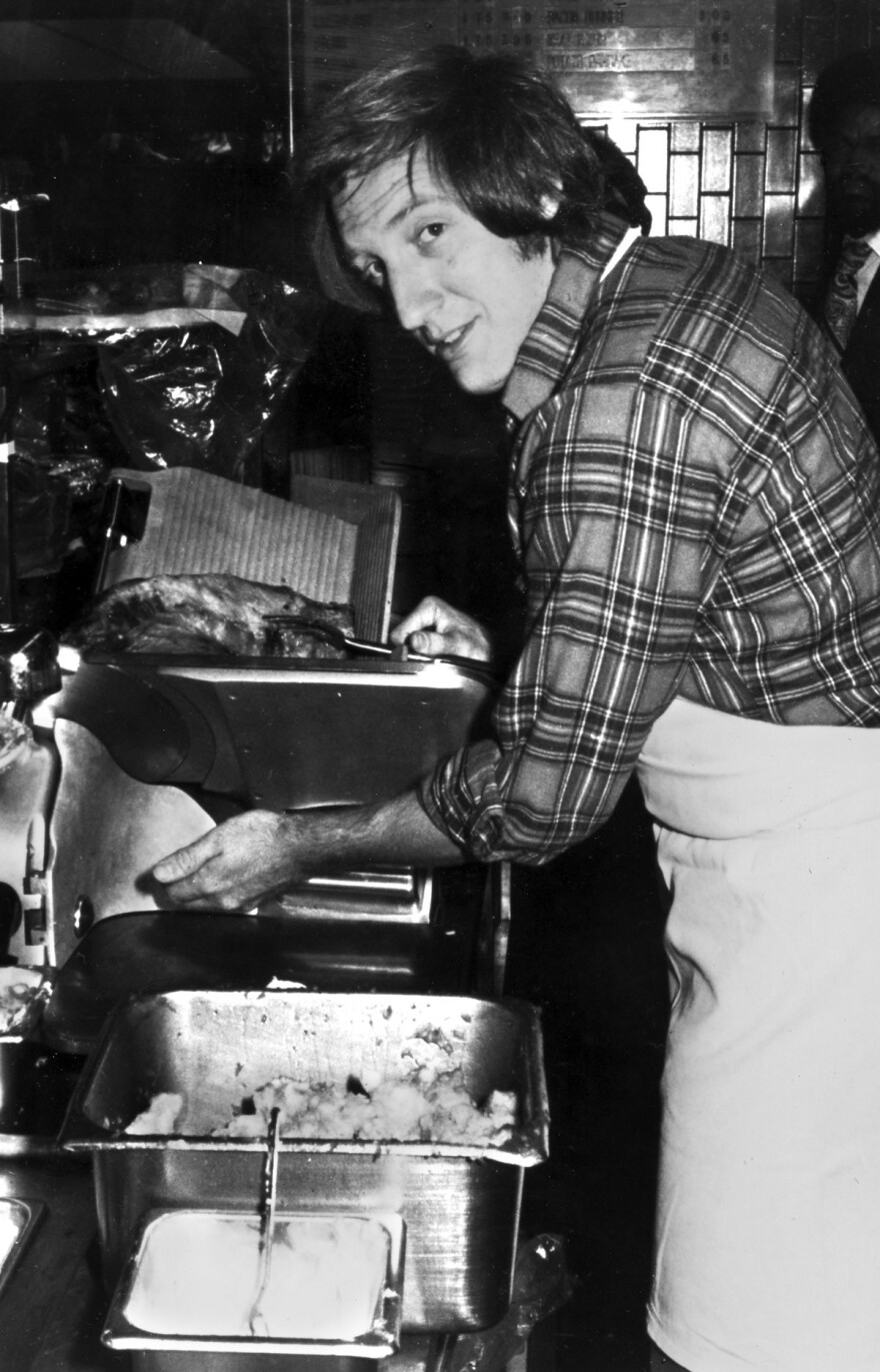 Zweibel worked at a deli before landing a job as a writer at <em>Saturday Night Live.</em>