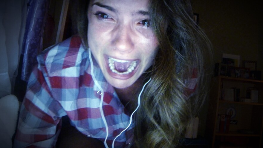 Shelley Henning stars as Blaire in <em>Unfriended</em>.