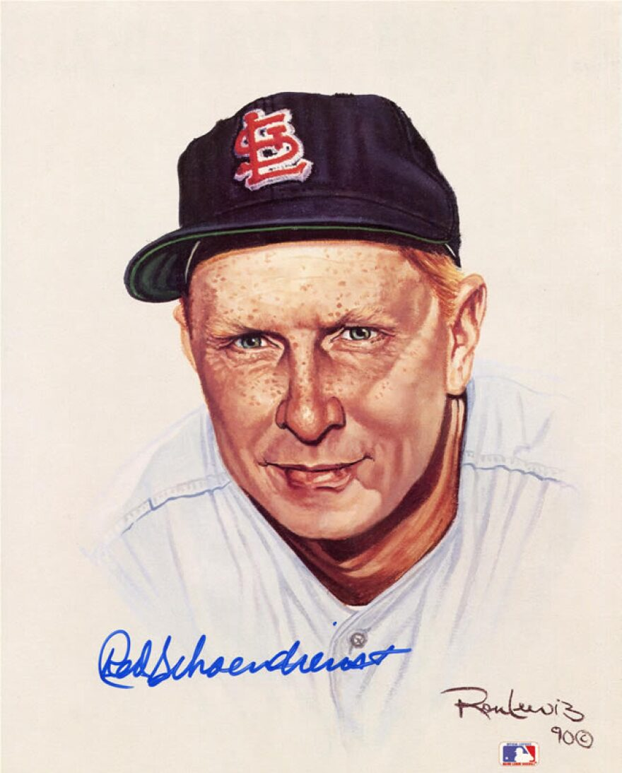 Red Schoendienst, Cardinal great, dies at 95.
