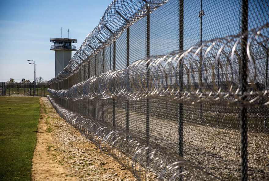 Telford prison in New Boston.
