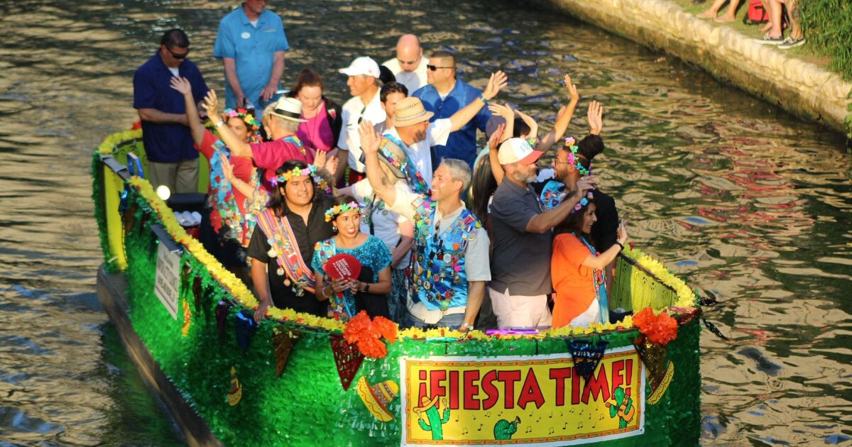 'Viva Fiesta!' — Texas Cavaliers River Parade Was A Coming Out Party For San Antonio