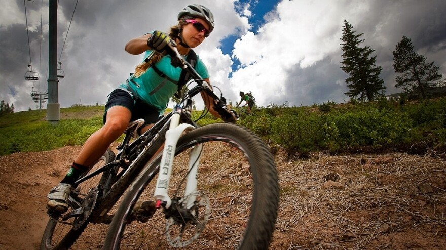 In the summer, Snowmass ski resort in Colorado rents bikes instead of skis. It's an effort to create year-round revenue during a time when most ski resorts are closed.