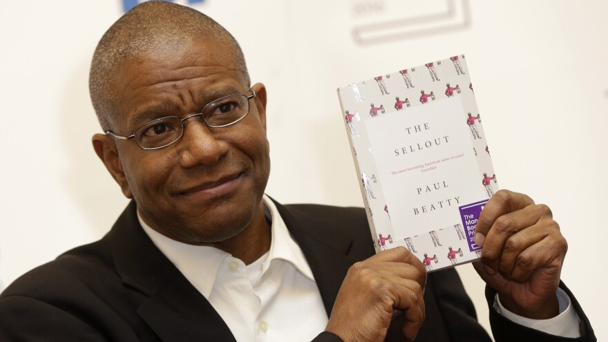 Paul Beatty is the first American to win the U.K.'s Man Booker Prize for fiction for his novel <em>The Sellout</em>.