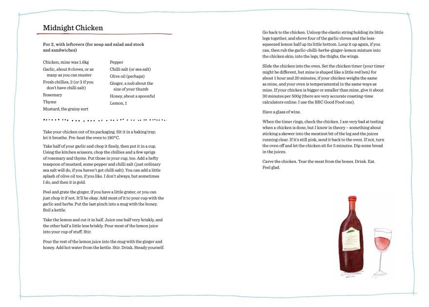 Midnight Chicken recipe