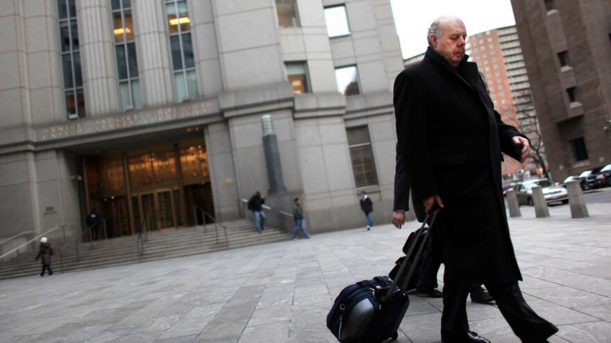 John Dowd, seen in New York City in 2011, has resigned from the Trump team.