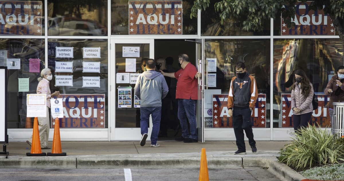 Early Voting Starts Monday. Here's What Austin Voters Need To Know.
