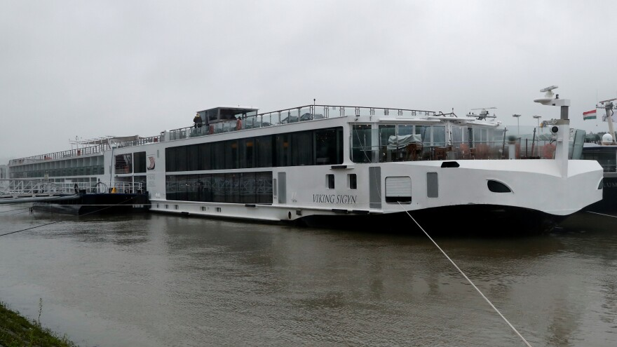 The river cruise ship Viking Sigyn collided with a tourist boat carrying 33 South Koreans on the Danube River in Budapest, Hungary, leaving at least seven people dead.