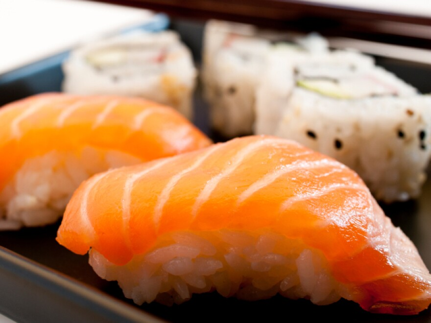 Odds are the local sushi joint's fish is less than sustainable.