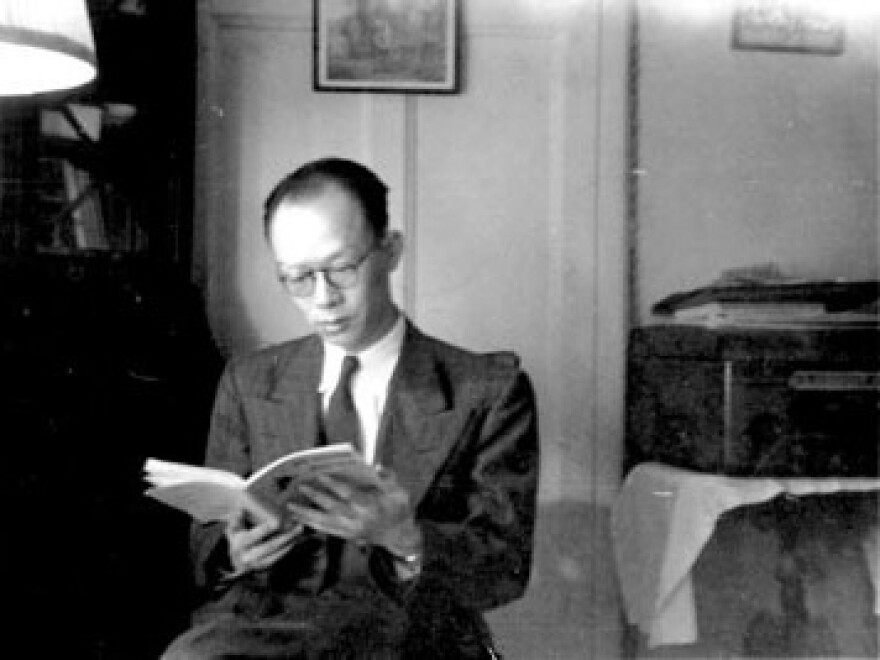 Zhou (shown here in New York in 1947) worked on Wall Street, but he returned to China in 1949 after the Communist revolution. Less than a decade after this photo was taken, he went to work on the system that would become Pinyin.