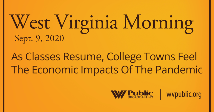 090920 As Classes Resume, College Towns Feel The Economic Impacts Of The Pandemic