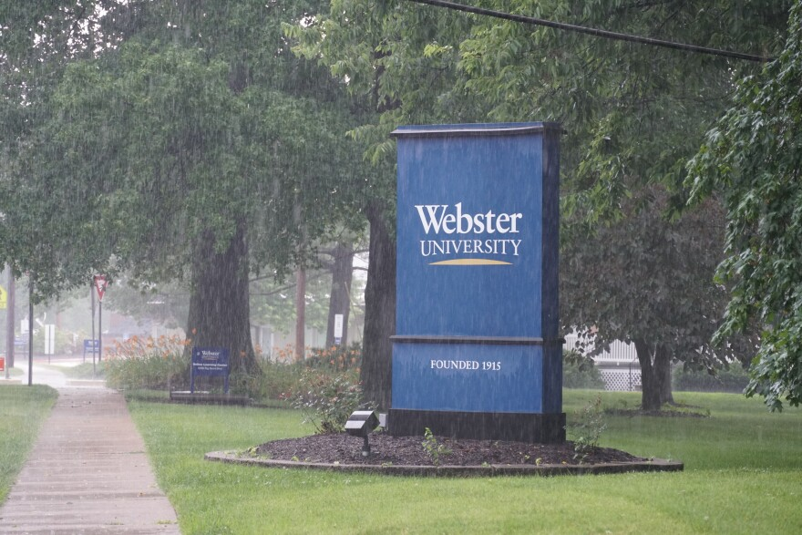 Webster University, shown in this July 1, 2019 photograph of its Webster Groves campus, is the subject of a federal civil rights investigation.