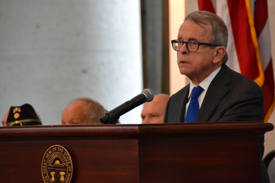 A photo of Governor Mike DeWine.