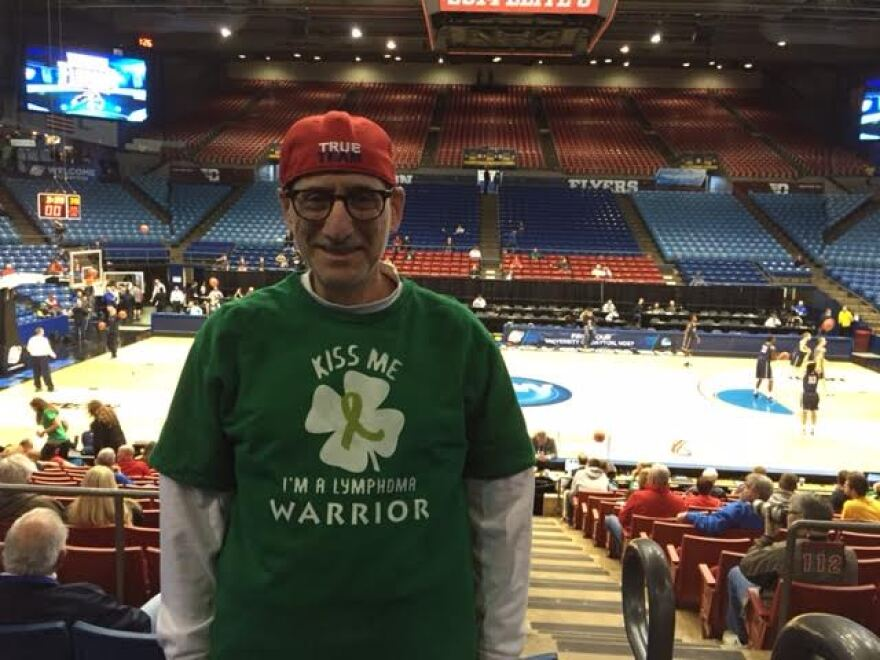 Tony Triola of Kettering has been a UD Flyer fan since he came to attend the University of Dayton in 1966.