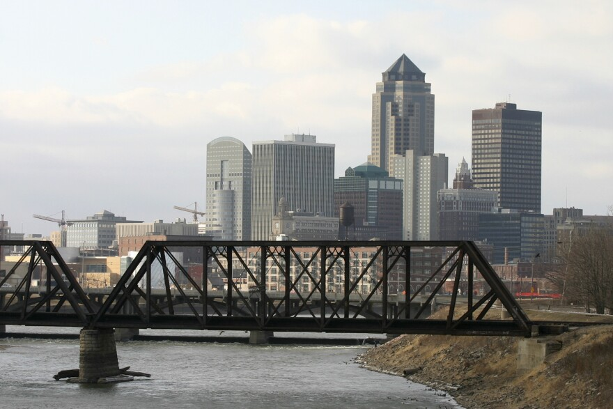 The city of Des Moines, Iowa, sits on the Raccoon and Des Moines rivers. The city's water works says it will sue three neighboring counties for high nitrate levels in these waterways.