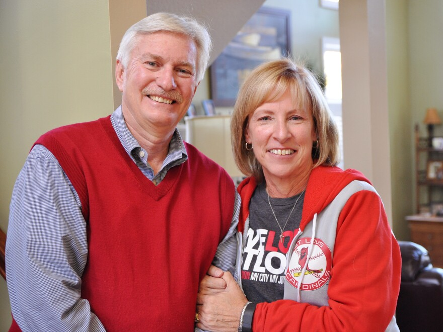 Mike Cluck and his wife, Nancy, of Edwardsville, Ill., were happy with Obamacare until their insurer dropped out.