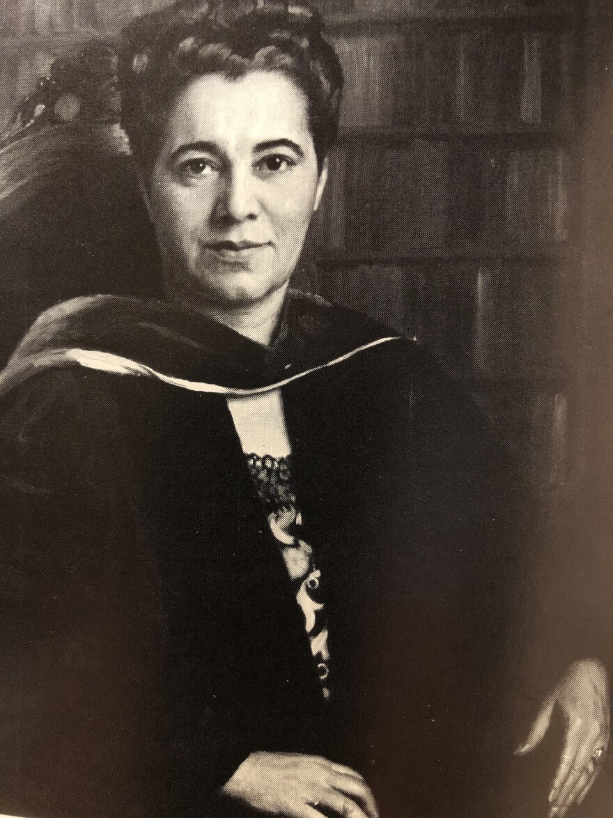 Ruth Harris was appointed the president of Stowe Teachers College in 1940.