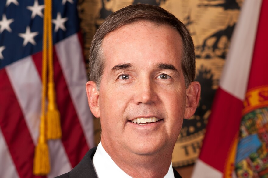 State Chief Financial Officer Jeff Atwater.