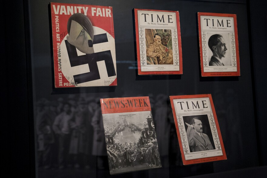 American magazines regularly reported on Hitler and Nazi Germany during the 1930s.