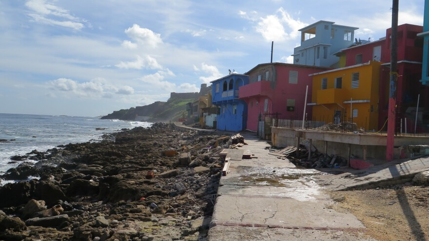 La Perla is an impoverished neighborhood with some of the most magnificent views on the island.