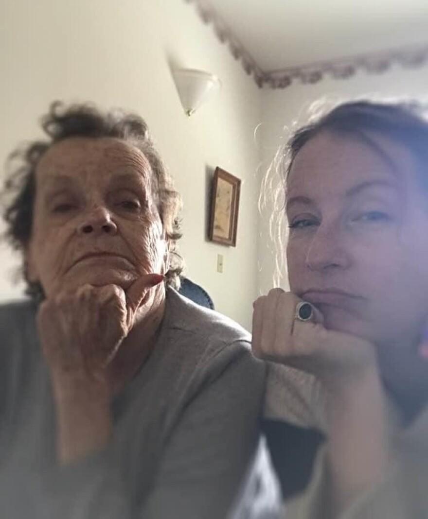 Juanita Giles and her mother, Mary Morton Giles.