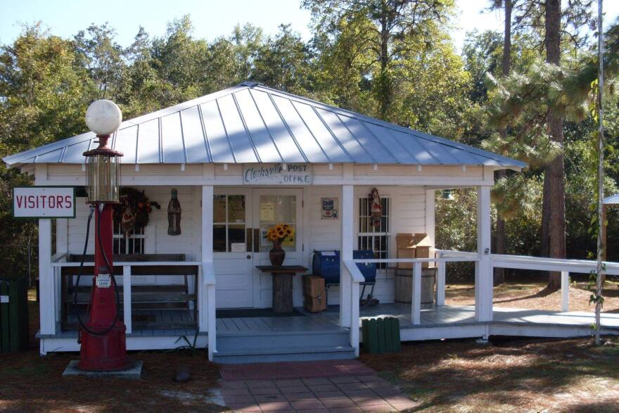 The Panhandle Pioneer Settlement is Calhoun County's main tourist attraction.