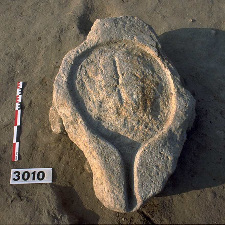 Chemical tests confirmed that this ancient wine press, found in southern France, was being used to release bacchanalian joy as early as 425 B.C.