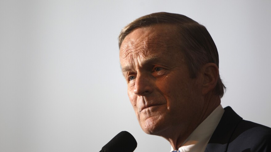 """Rep. Todd Akin, R-Mo., says Rep. Paul Ryan, R-Wis., the GOP vice presidential candidate, asked him to end his Senate bid after recent comments he made referring to """"legitimate rape."""""""