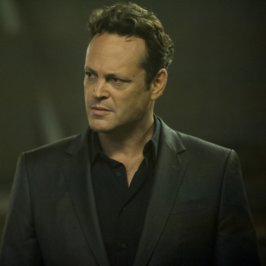 Vince Vaughn plays a crime boss scrambling to complete a business deal in HBO's <em>True Detective</em>.