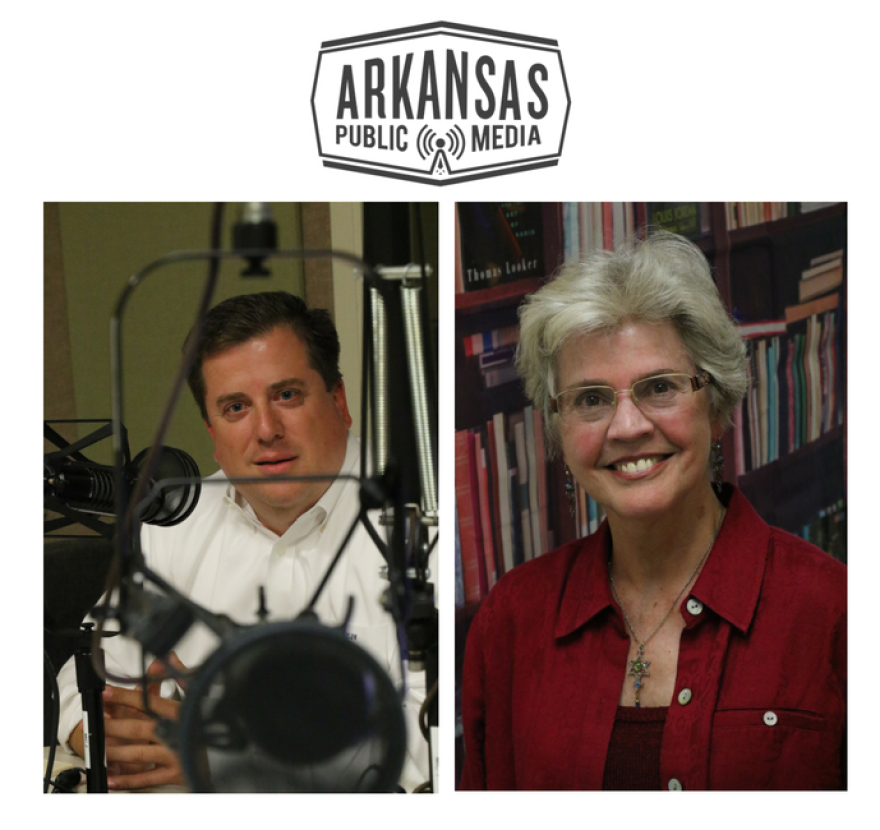 Carl Vogelpohl is leading a campaign to convince a majority of Arkansas voters to approve Issue 1 on the ballot in November; former state Supreme Court Justice Annabelle Imber Tucker is asking voters to reject it.