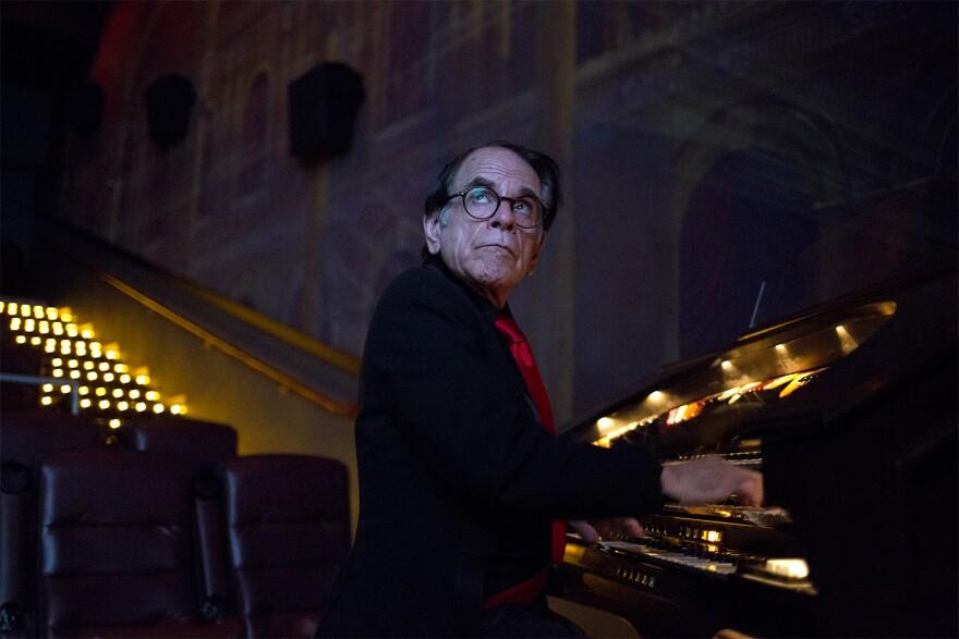 Organist Gerry Marian