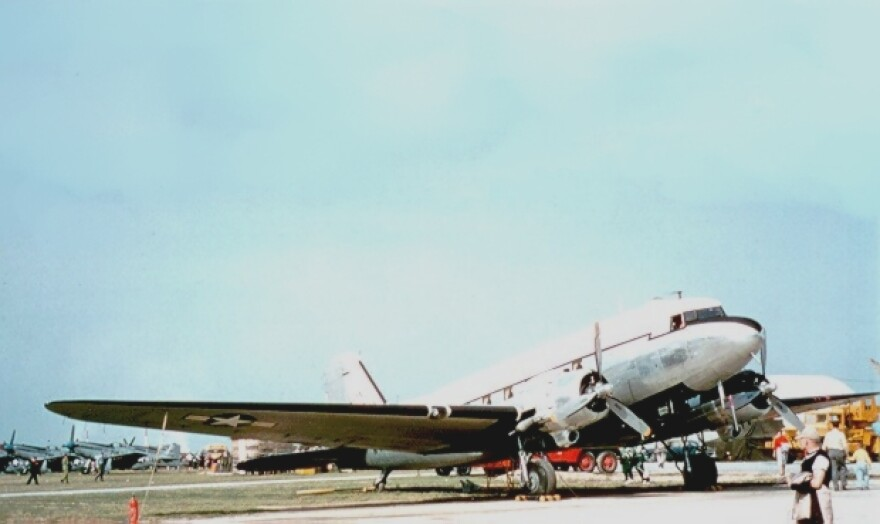 Pictured is a U.S. Air Force Douglas C-47 Skytrain of the 167th Fighter Squadron, West Virginia Air National Guard. The 167th flew the C-47 from 1947 to 1958.