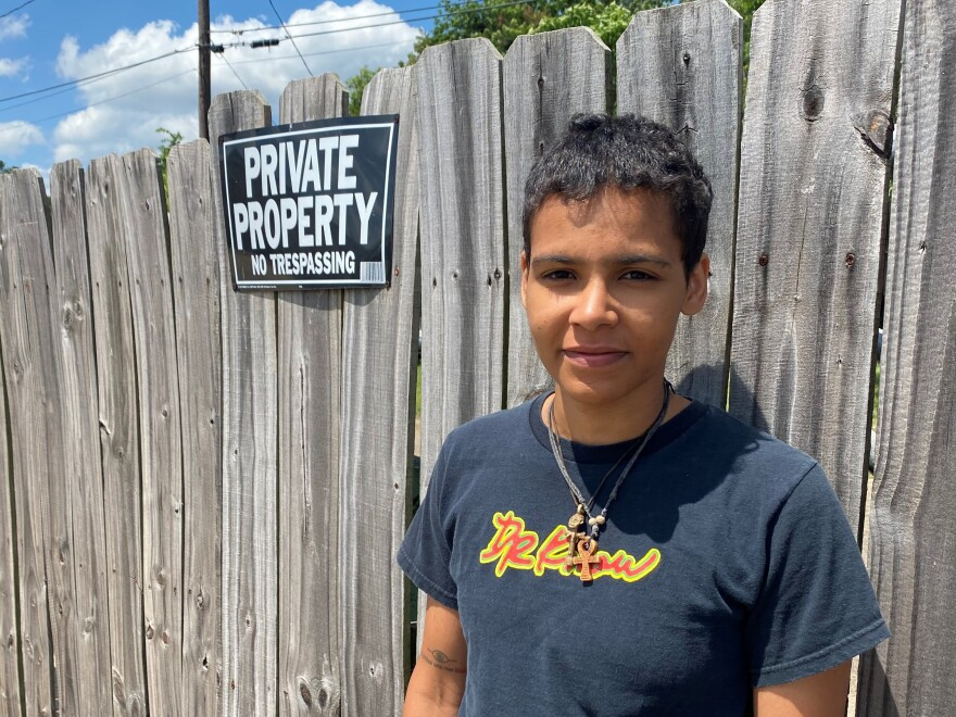 Aylin Sozen is a protest organizer in the city of Texarkana. David Watkins, a pastor in the city, says there is a divide in how older and younger generations in the city approach activism.