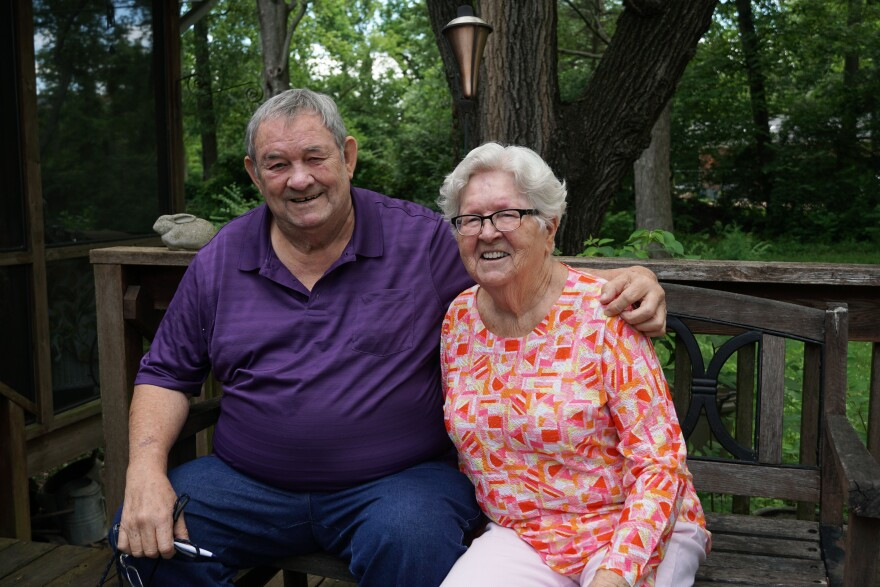 Pete Young and Alice Mertz Young grew up in the area that is now Castlewood State Park. Their parents moved the family into a one-bedroom clubhouse in the late 1940s.