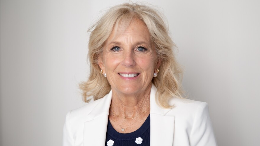 "Jill Biden spoke to NPR about her new book and her husband Joe Biden's recent overture to Anita Hill. ""He apologized for the way the hearings were run. And so now it's kind of — it's time to move on,"" she said."