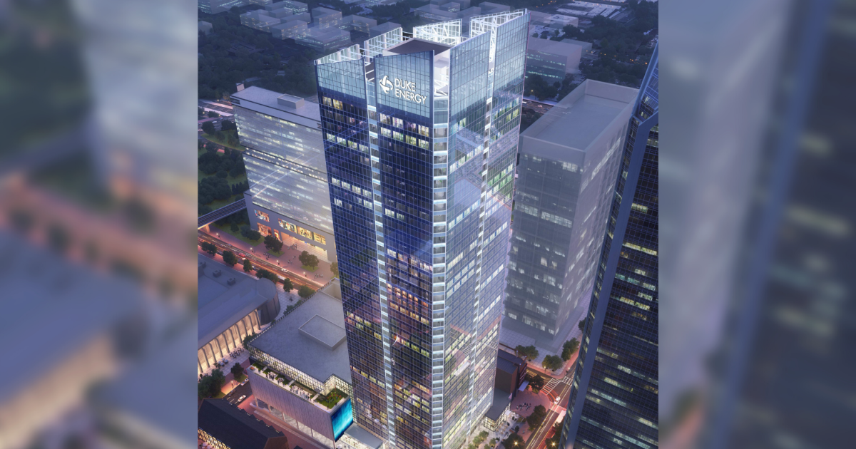 Duke Energy To Move HQ To New Tower, Shrink Charlotte Office Space