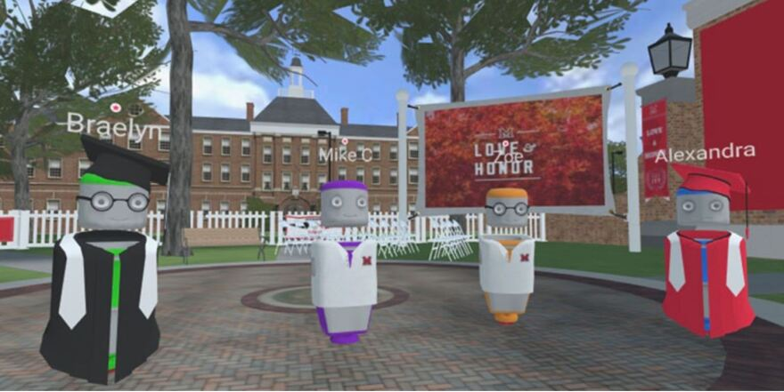 Miami University's commencement will be virtual this year. The online experience was put together by Subvrsive, a virtual reality company with ties to the university.