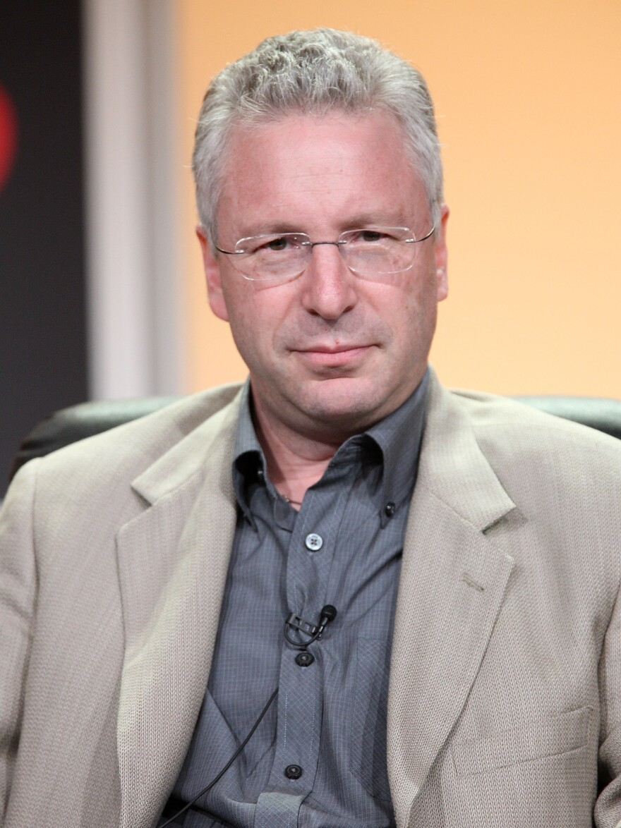 Professor Thomas Levenson, during the History Channel 2008 Summer Television Critics Association Press Tour.