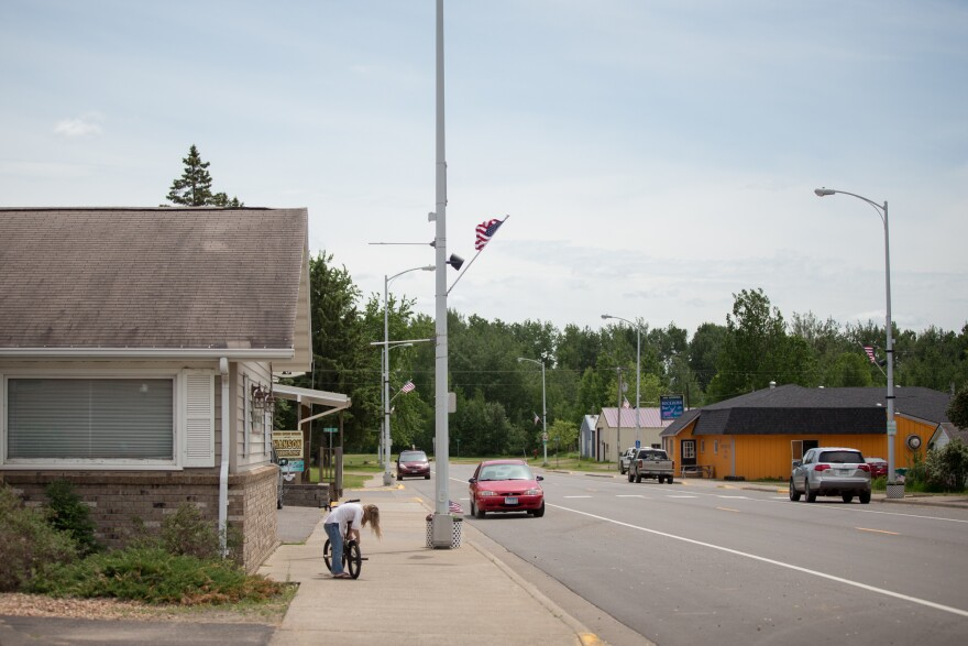 McGregor was once a vibrant community, but about two decades ago, the local economy declined and people began to move away. Those changes affected the social fabric of the town.