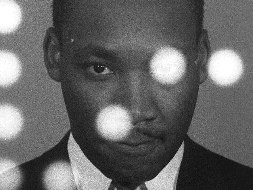 Martin Luther King Jr. in Sam Pollard's <em>MLK/FBI.</em>