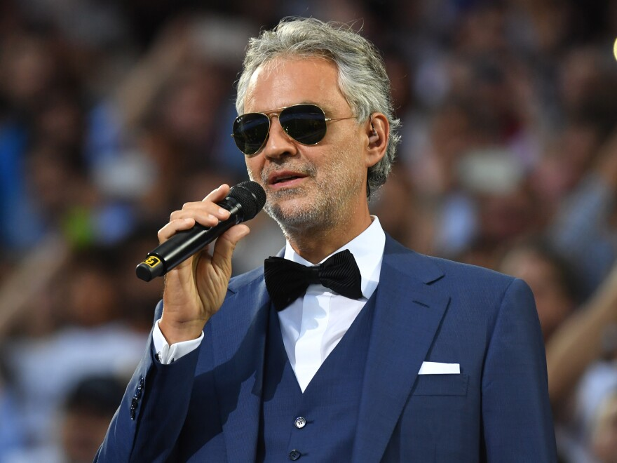 Italian star Andrea Bocelli will livestream an Easter concert from the empty halls of Milan's Duomo cathedral on Sunday.