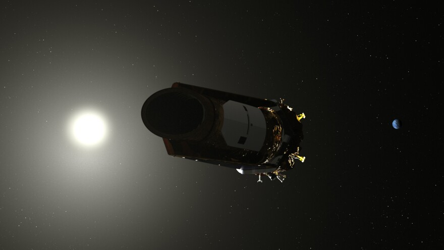 Artist's conception of Kepler.