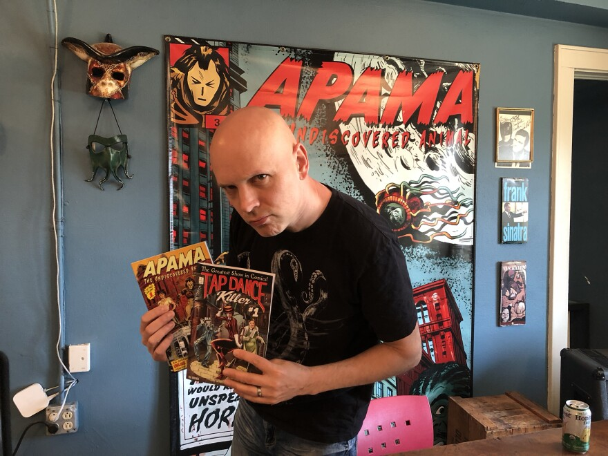 Ted Sikora has watched his Apama series expand to include the antihero the Tap Dance Killer.