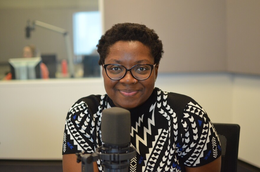 "St. Louis-based writer Jacqui Germain shared her poetry on ""St. Louis on the Air."""